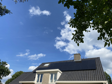 Zonnepanelen in Boxmeer