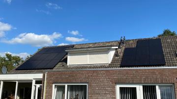 Zonnepanelen in Deurne