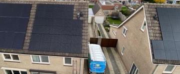 Zonnepanelen in Vierlingsbeek