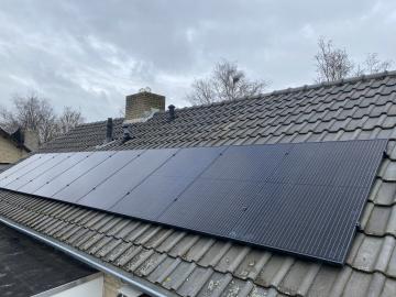 Zonnepanelen in Venhorst
