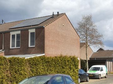 Zonnepanelen in Ysselsteyn