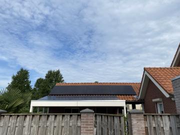 Zonnepanelen in Wilbertoord