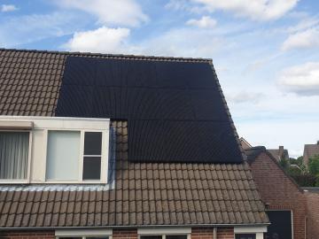 Zonnepanelen in Rijkevoort