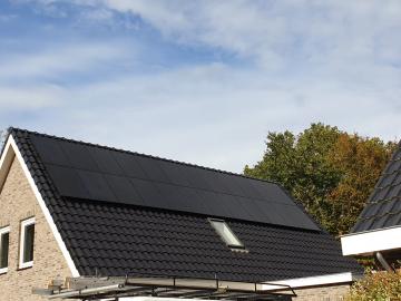 Zonnepanelen in Nieuw-Bergen