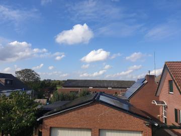 Zonnepanelen in Sint Agatha