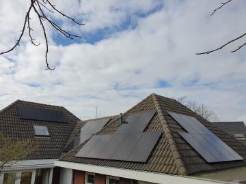 Zonnepanelen in Helmond